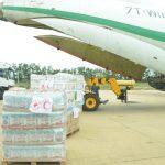 نقل الشحنة الرابعة من المساعدات الإنسانية لفائدة شعب النيجر