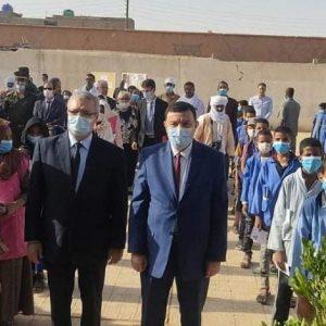 """وزير التربية يشرف على انطلاق امتحانات """"السانكيام"""" من برج باجي مختار"""
